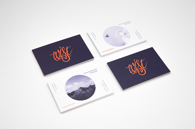 Luca Ferrario - Wist Business Cards